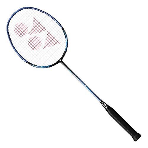 YONEX Nanoray 10F Hi-Flex Pre-Strung Badminton Racquet, Black/Blue