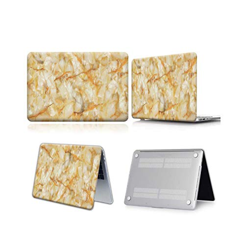 Peach-Girl - Carcasa para Book Air 13 11 Pro 13 15 Retina A1502 Touch Bar Book 13 15' 2019 A1708 A2159 Marbre-Breccia sarda Marble-Air 13 A1369 A1466