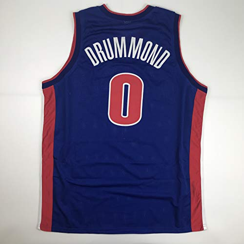 Unsigned Andre Drummond Detroit Blue Custom Stitched Basketball Jersey Size Men's XL New No Brands/Logos