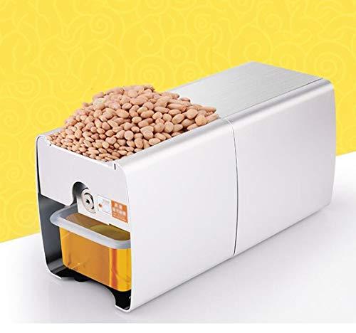 JBHURF Hausautomation kleine Ölpresse Ölpresse Ölpumpeneinheit 24 Stunden Kaltdruck heißes Öl Quetscher 360-Grad-All-inclusive-Supraleitungs Thermostat Lüfterkühlung