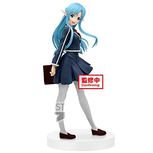 MMZ Sword Art Online - Schule Kleidung Yuuki Asuna (blau Messe) Action-Figur Sammlerstück for Sword Art Online Fans
