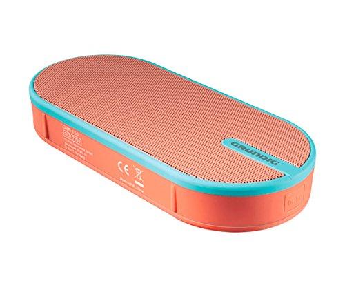 GRUNDIG GSB 1506W Soundbar blau–Tragbare Lautsprecher ((6W, kabellos, Bluetooth, Bluetooth, 10m, Micro)