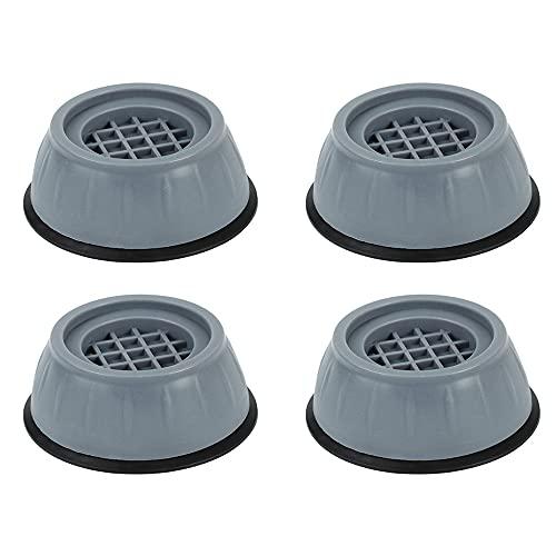 4 almohadillas para los pies de la lavadora, antideslizantes, de goma, ajustables, para lavadoras, secadoras, muebles, frigoríficos, etc.