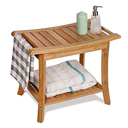 Bamboo Bench douchekruk, badkuip, whirlpool, kruk past onder de douche of badkamer