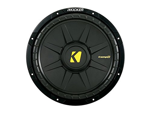 Kicker CWD12 Subwoofer Driver 300W - Auto-Subwoofer (Subwoofer-Treiber, Passiver Subwoofer, 300 W, 600 W, 88,3 dB, 4 Ohm)
