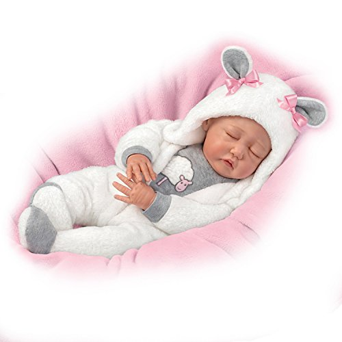The Ashton-Drake Galleries So Truly Real Miley Lifelike Baby Doll by Sherry Miller