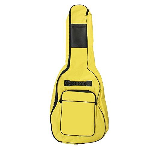 Tamaño completo Accessotech guitarras acústicas y de transporte acolchada guitarra clásica espacio para bolsa de transporte