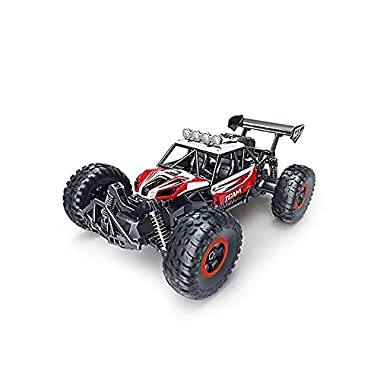 DEORBOB All Terrain Remotely Operated Vehicle 2.4GHz Radio Controlled Car Oversize Tire Automotive RC Buggy High Speed…
