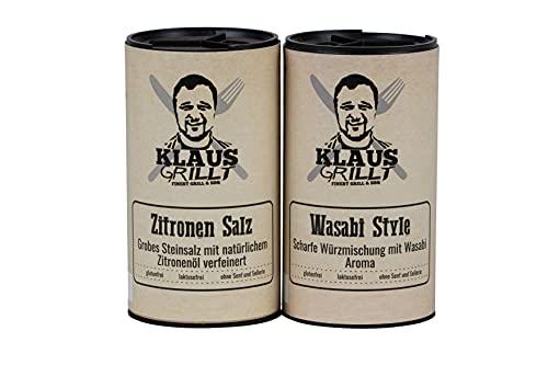 Zitronen Salz & Wasabi Style - Streuer -...