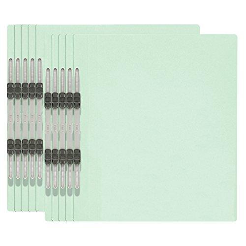 プラス エコノミー フラットファイル A4縦 2穴 10冊パック 79-355 ブルー