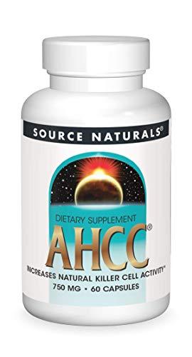 SOURCE NATURALS Ahcc 750 Mg Capsule, 60 Count