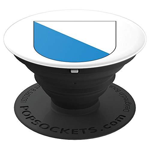 Zürich - Wappen des Kantons Schweiz - PopSockets Ausziehbarer Sockel und Griff für Smartphones und Tablets