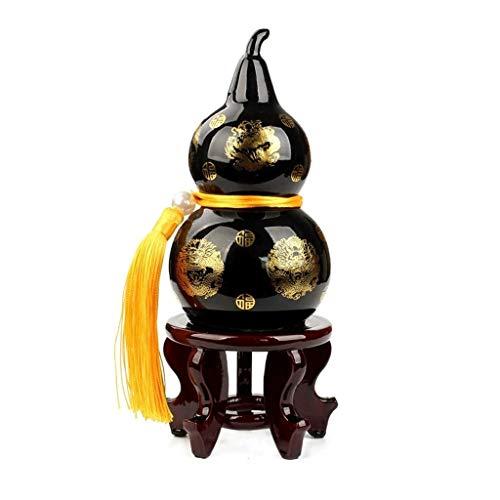 SHYPT Chinesische Art-Inneneinrichtung, Steinkürbis-Dekorationen, Innendekoration-Handwerk