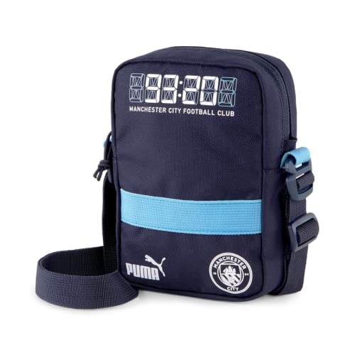 Manchester City FtblCulture - Borsone portatile, colore: Blu chiaro
