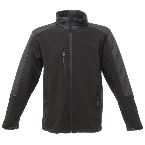 Regatta Hydroforce - Veste Softshell Coupe-Vent - Homme (3XL) (Noir/Noir)