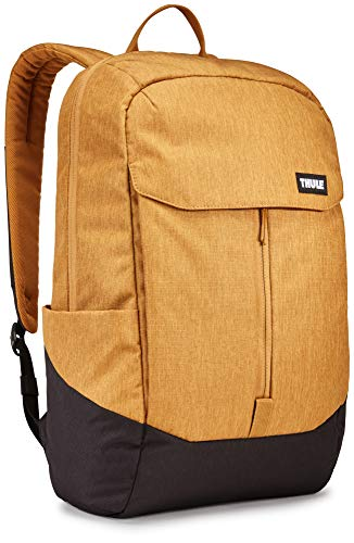 Thule 3204272 20 Liter Lithos Backpack with Compartment for 15.6' Laptop, Woodthrush