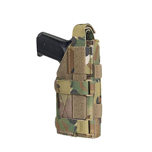 BGJ Funda de Pistola de Combate táctica Funda de Pistola de Entrenamiento Funda Airsoft para M1911 G17-19 XD-45acp CZP-10C