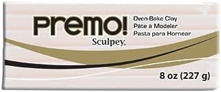Premo Clay 8 Ounces-Translucent