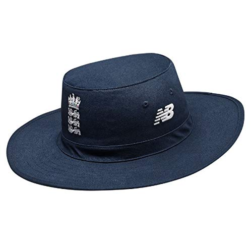 New Balance Gorra Oficial de críquet de Inglaterra para Hombre, Hombre, Gorro/Sombrero, CMA8024, Galaxy, XS-S