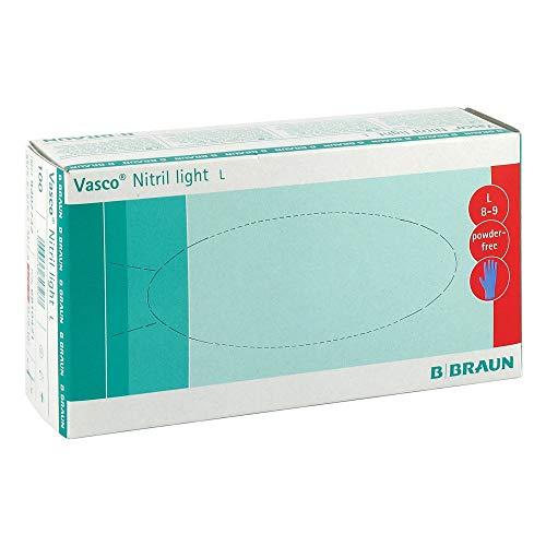 VASCO Nitril light Untersuchungshandschuhe Gr.L 100 St