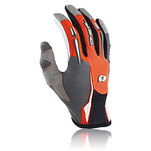 O'NEAL | Guanti Mountain Bike | MX MTB Motocross Enduro Motorcycle | Design leggero e semplice per una sensazione ottimale sul manubrio | Guanto Podium | Adulto | Arancione | Taglia L