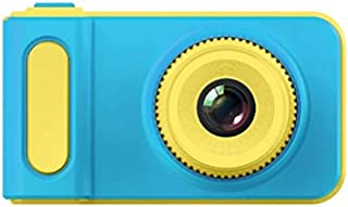 ACHICOO 2 Inch 2MP 1080p MI/NI Cam Digital Camera for Kids Baby Cute Cartoon Multifunction Toy Camera Blue