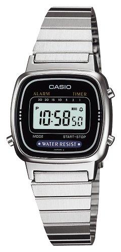 [カシオ] 腕時計 スタンダード LA-670WA-1JF シルバー