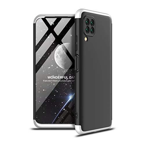DYGG reemplazo para Funda Huawei P40 Pro+/Huawei P40 Pro Plus 5G Thin Fit 360 Carcasa Exact Slim de protección Completa+ Protector de Pantalla, Negro Plateado