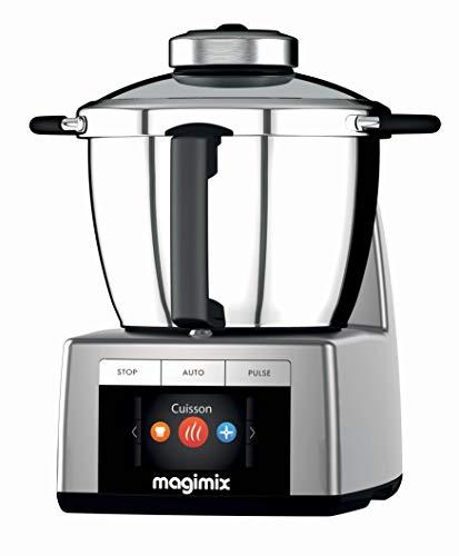 Magimix – Cook Expert 18900 Robot Cuiseur Multifonction 3,5L, Chrome mat, FABRIQUE EN FRANCE