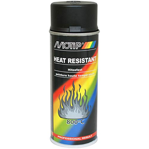 Auspufflack schwarz matt 400 ml bis 800 Grad