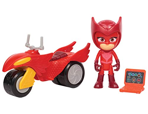 PJ Masks Super Moon Rovers Owlette Toy Giocattolo, Colore Multi-Colour, 95112