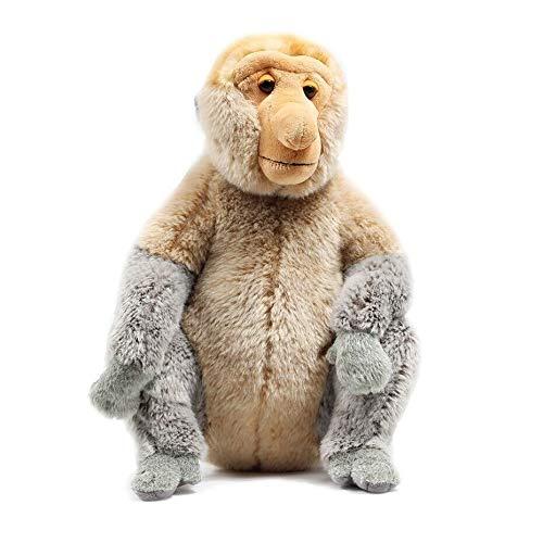 zyfun Plush Toy Plush Pillow Plush Doll Proboscis Monkey Mascot Doll Large Cartoon Doll Child Birthday Present