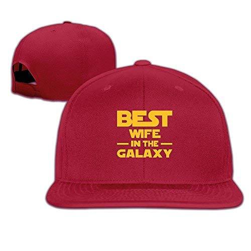Best Wife in The Galaxy2 Men Women Sport Hat Custom Cap Baseball Mesh Hat Design Hatred