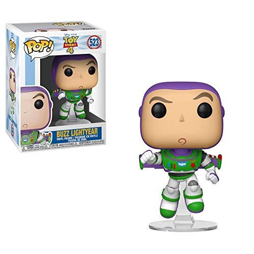 Funko- Pop Vinile: Disney: Toy Story 4: Buzz Lightyear Figura da Collezione, Multicolore, 37390