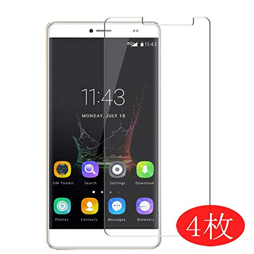 【4 Pack】 Synvy Screen Protector for BLUBOO Maya Max 0.14mm TPU Flexible HD Clear Case-Friendly Film Protective Protectors [Not Tempered Glass] New Version