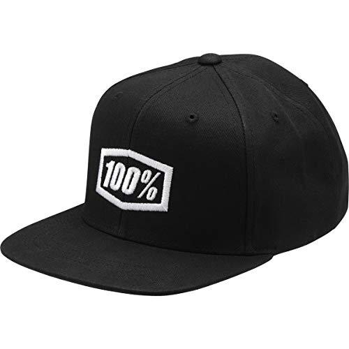 100% Essential Snapback Chapeau Noir