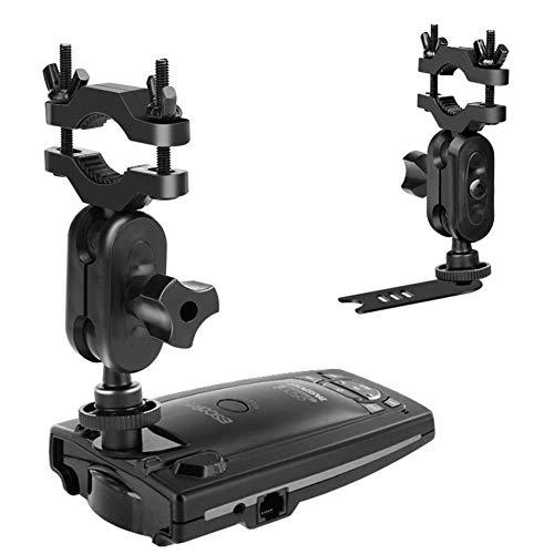 MvToe Car Rear View Mirror Radar Detector Mount for Escort Passport 9500i 8500 7500 X50 X70 X80 Solo SC S2 S3 S4 s75 55 Beltronics RX65 GX65 Red (Not for Escort IX & MAX Series)