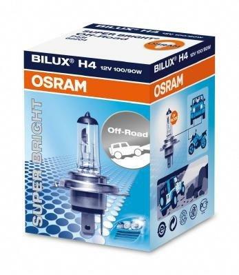 Osram 62204 Lot de 2 ampoules H4 12 V 100/90 W