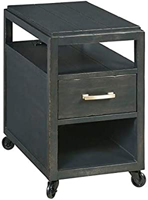 Amazon Com Crown Mark Dempsey Chair Side Table Kitchen