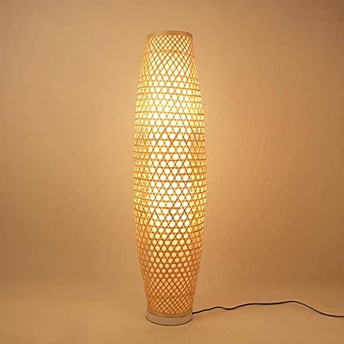Bamboo Garden Stehlampe Wohnzimmer Schlafzimmer Stehleuchte Schlafzimmer Höhle,White
