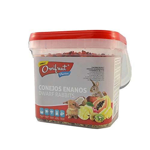 Placias Ornifruit Conejos Enanos 2kg
