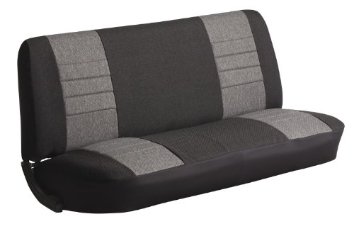 FIA OE34 CHARC Universal Fit Truck Bench Seat Cover (Charcoal)