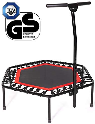 SportPlus Unisex Quiet Miniature Indoor Rebounder Home Fitness...