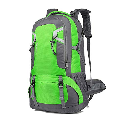 LXXYJ Waterproof Camping Backpacking,Hiking Backpack,Outdoor Trekking Backpack Suitable for Women Men Child Running Cycling Mountaineering Travel,Green,small