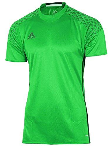 adidas Herren Shirt Goalkeeper Jersey Torwart Trikot Adizero (grün-schwarz, 4 (46) S)