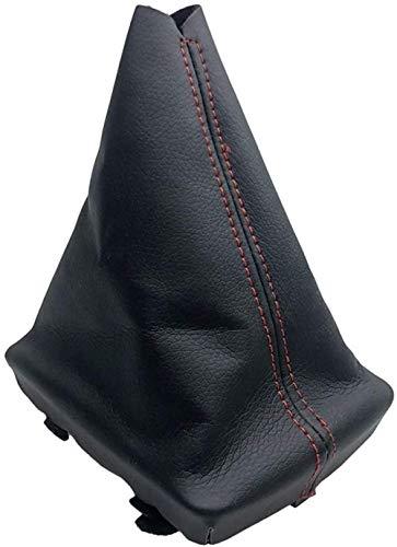 XGFCNB - Cubierta de Maletero para Palanca de Cambios de Coche, Ajuste para Audi A4 (2001-2008) B6 (2001-2005) A6 C5 (2001) / Seat Exeo (2011) Leon (2000) (Tamaño: 5) -1