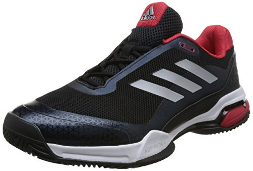 Adidas Barricade Club, Zapatillas de Soft Tenis para Hombre, Negro (Negbás/Plamat/Ftwbla 000), 40 EU