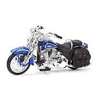 ダイキャストモデルモーターサイクル 1:18に適用するはFLSTSヘリテージスプリンガー1999ダイキャスティングカーコレクションホビーモーターサイクルモデルのおもちゃに適しています