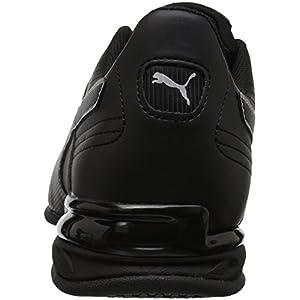 PUMA mens Super Levitate Sneaker, Black, 10.5 US