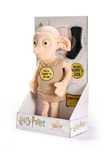 The-Noble-Collection-Harry-Potter-Dobby-Interactive-Plush-Officially-Licensed-11in-32cm-Electronic-Plush-Toy-Dolls-Gifts-Speaks-16-Phrases
